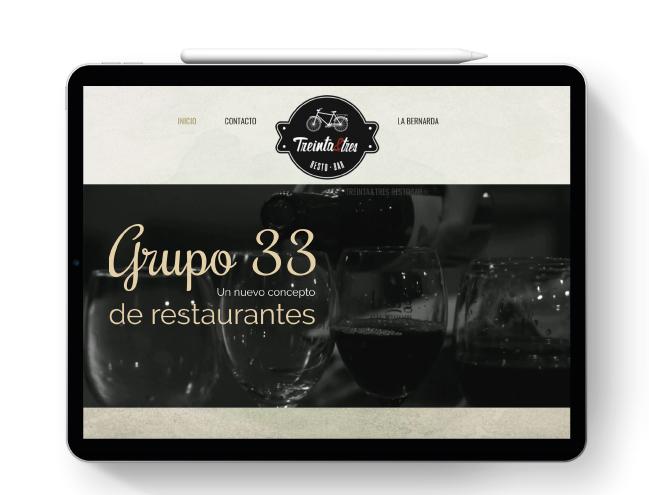 Pagina web Grupo 33